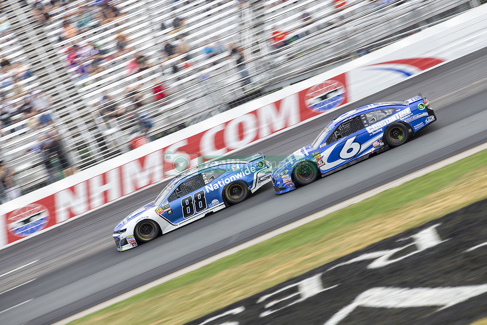 July 22, 2018 - Loudon, New Hampshire, United States of America - Matt Kenseth (6) races off turn four during the Foxwoods Resort Casino 301 at New Hampshire Motor Speedway in Loudon, New Hampshire. (Credit Image: © Stephen A. Arce/ASP via ZUMA Wire)