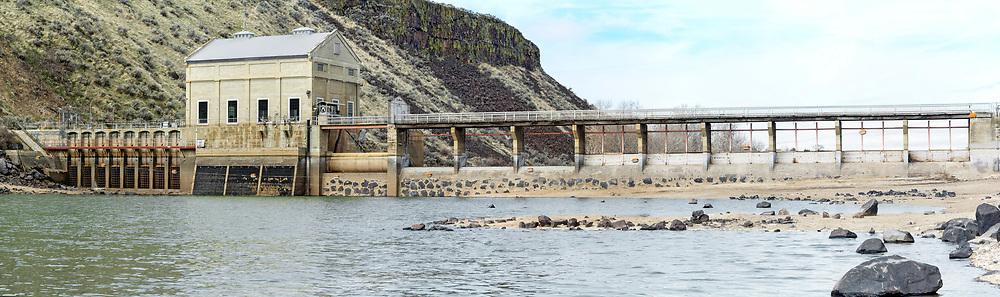 Diversion Dam in the Boise river.