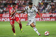 Asensio of Real Madrid in action during the spanish league, La Liga, football match between Girona and Real Madrid CF on August 26, 2018 at Montilivi stadium in Girona, Spain, Photo Irina RH / SpainProSportsImages / DPPI / ProSportsImages / DPPI