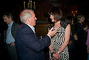 KELVIN MACKENZIE; DIANA COLVERT, Book launch for Citizen by Charlie Brooks. Tramp. London. 1 April  2009