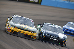 March 10, 2018 - Avondale, Arizona, United States of America - March 10, 2018 - Avondale, Arizona, USA: Ty Dillon (3) brings his car through the turns during the DC Solar 200 at ISM Raceway in Avondale, Arizona. (Credit Image: © Chris Owens Asp Inc/ASP via ZUMA Wire)