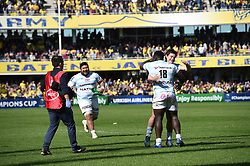 April 1, 2018 - Clermont Ferrand - Stade Marcel, France - Joie de Cedate Gomes SA et Henry Chavancy  (Credit Image: © Panoramic via ZUMA Press)