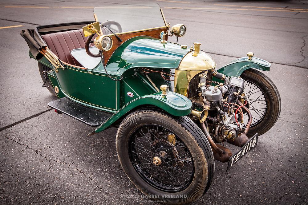 1925 Morgan 3-Wheeler, Planes and Cars at the Santa Fe Airport, 2013 Santa Fe Concorso.