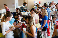 Peregrine Expresso was crowded with visitors in search of the perfect cup of coffee.