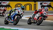 Jul 19 2015 Salinas, CA U.S.A. # 22 Alex Lowes change to rain tires as # 36 Leandro Mercado stay with slick tire during the light rain fall at the eni FIM Superbike World Championship Laguna Sega Salinas, CA  Thurman James / CSM