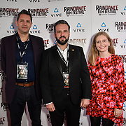 Kinch & the Double World team Nominated attends the Raindance Film Festival - VR Awards, London, UK. 6 October 2018.