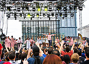 Polyphonic Spree performing at Fun Fun Fun Fest, Austin, Texas, November 10, 2013.