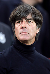 Germany manager Joachim Low before the 2018 FIFA World Cup Qualifying, Group C match at Windsor Park, Belfast.