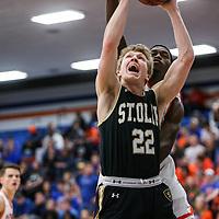 Men's Basketball: University of Wisconsin, Platteville Pioneers vs. St. Olaf College Oles