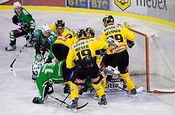 52nd Round of EBEL league ice-hockey match between HDD Tilia Olimpija, Ljubljana and EV Vienna Capitals, on February 7, 2010 in Arena Tivoli, Ljubljana, Slovenia. Vienna defeated Olimpija 8-2. (Photo by Vid Ponikvar / Sportida)