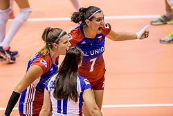 23-08-2017 NED: World Qualifications Czech Republic - Bulgaria, Rotterdam<br /> Iva Nachmilnerova #7 of Czech Republic