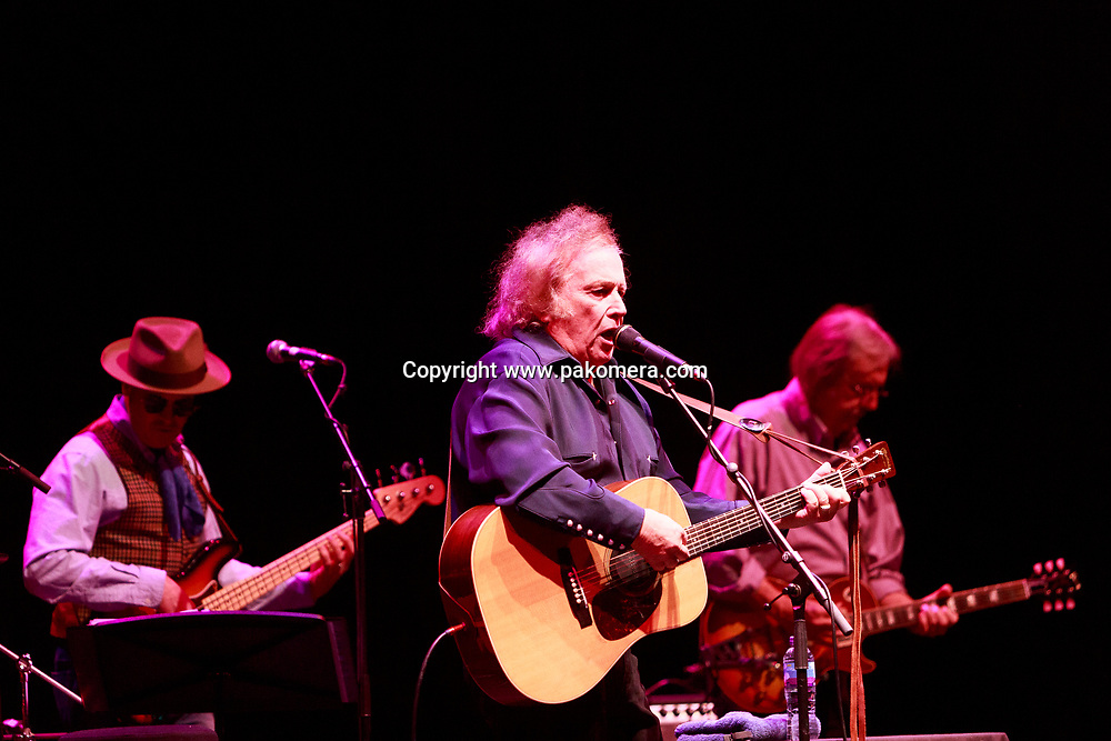 Edinburgh, Scotland. UK. 16 May 2018. America's legendary singer-songwriter Don McLean UK tour performs at the Usher Hall in support of his new album, Botanical Gardens. Pako Mera