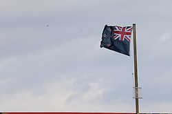 New Zealand flag during day four of the first test match between South Africa and New Zealand held at the Kingsmead stadium in Durban, KwaZulu Natal, South Africa on the 22nd August 2016<br /> <br /> Photo by:   Anesh Debiky / Real Time Images