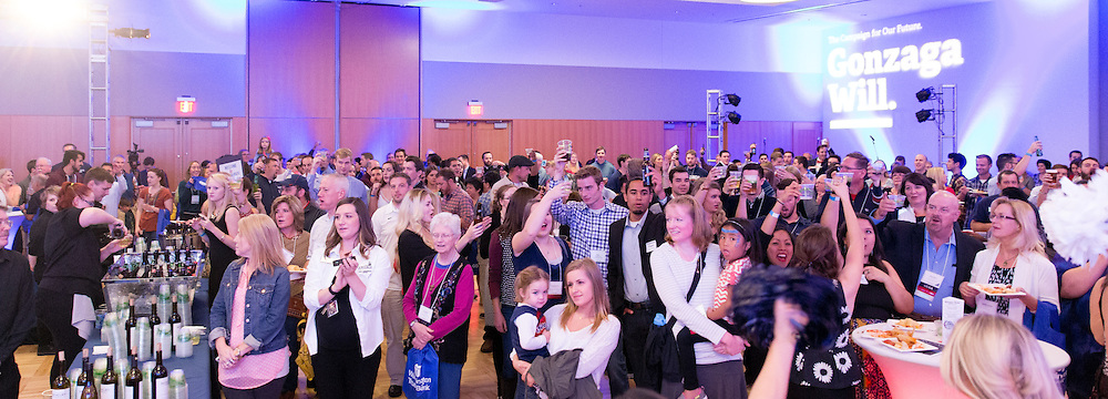 The Gonzaga Community came together for Zagapalooza to celebrate the Gonzaga Will campaign, the Hemmingson Center dedication and other festivities for an all-class reunion on October 16, 2015 (Photo by Rudy Bermúdez)