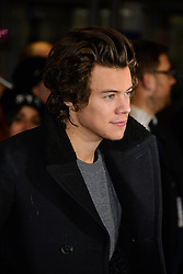 Harry Styles attends The World Premiere of 'The Class of 92'. Odeon West End, London, United Kingdom. Sunday, 1st December 2013. Picture by Chris Joseph / i-Images