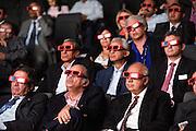 Nederland Amsterdam 3 september 2013<br /> Egyptische cardiologen krijgen een 3D presentatie aangeboden door Philips Healthcare tijdens het ECS congres<br /> Foto: Jan Boeve