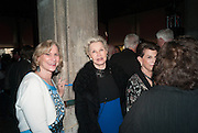 LAURIE TISCH; LAURA BOHN, The Bronx Museum of the Arts, Tanya Bonakdar Gallery and the Victoria Miro Gallery host a reception and dinner in honor of Sarah Sze: Triple Point. Representing the United States of America at the 55th Biennale di Venezia with the Co  Commissioners of the  U. S. Pavilion Holly Block, Executive Director of the Bronx Museum of the arts  and Carey Lovelace. <br /> <br /> Rialto Fish market. Venice. . 29 May 2013