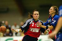 Håndball, 25. september 2002. Treningskamp, Norge  - Jugoslavia 28-29. Monica Sandve, Norge.