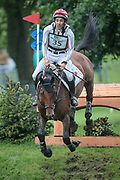CALLE 44 ridden by Yoshiaki Oiwa (JPN) during the Equitrek CCI*** cross country event on day three of the Bramham International Horse Trials 2017 at  at Bramham Park, Bramham, United Kingdom on 11 June 2017. Photo by Mark P Doherty.