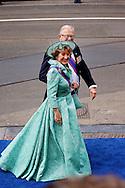 AMSTERDAM - De inhuldiging van Koning Willem Alexander. Met op de foto Prinses Margriet en Pieter van Vollenhoven. FOTO LEVIN DEN BOER - PERSFOTO.NU