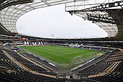 Hull City KC Stadium before the Sky Bet Championship match between Hull City and Wolverhampton Wanderers at the KC Stadium, Kingston upon Hull, England on 15 April 2016. Photo by Ian Lyall.