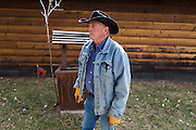 CREDIT: Steven St. John for The Wall Street Journal<br /> &quot;ANIMAS&quot;<br /> <br /> Rancher Lin Blancett, whose cows had to be evacuated because of the Gold King Mine spill, stands next the Well Pump on his land on Tuesday, March 22, 2016