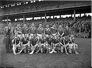 03/04/1955<br /> 04/03/1955<br /> 3 April 1955<br /> Railway Cup Final: Connacht v Munster at Croke Park, Dublin. Munster Team.