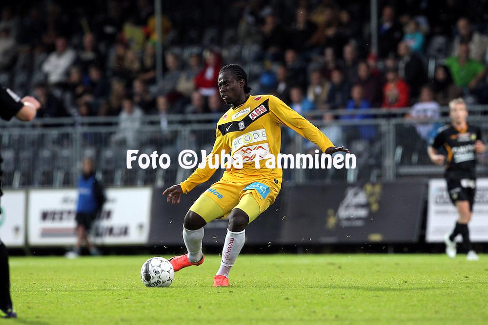 27.8.2012, Tapiolan urheilupuisto, Espoo..Veikkausliiga 2012..FC Honka - Vaasan Palloseura..Steven Morrissey - VPS