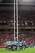 The Waratahs. Queensland Reds v NSW Waratahs. Investec Super Rugby Round 10 Match, 24 April 2011. Suncorp Stadium, Brisbane, Australia. Reds won 19-15. Photo: Clay Cross / photosport.co.nz