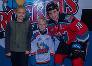 KELOWNA, CANADA - OCTOBER 27:  Pepsi Player of the Game with Dillon Dube #19 of the Kelowna Rockets at the Kelowna Rockets game on October 27, 2017 at Prospera Place in Kelowna, British Columbia, Canada.  (Photo By Cindy Rogers/Nyasa Photography,  *** Local Caption ***