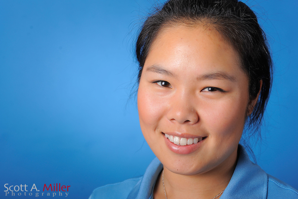 Esther Choe during a portrait session prior to the second stage of LPGA Qualifying School at the Plantation Golf and Country Club on Sept. 24, 2011 in Venice, FL...©2011 Scott A. Miller