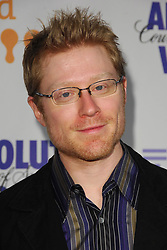 Actor Anthony Rapp attends the 19th Annual GLAAD Media Awards at the Marriott Marquis in New York City, USA on March 17, 2008. Photo by Gregorio Binuya/ABACAUSA.COM (Pictured : Anthony Rapp)