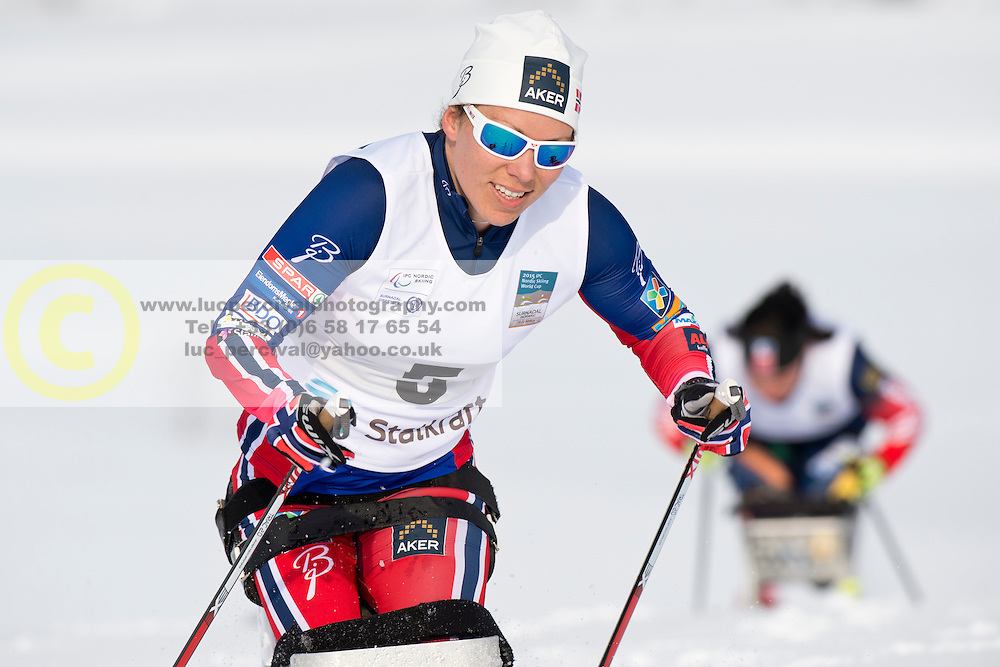 MARTHINSEN Mariann, NOR, Long Distance Cross Country, 2015 IPC Nordic and Biathlon World Cup Finals, Surnadal, Norway
