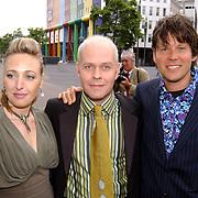 Friends Event, Isabel Brinkman, James Michael Tyler en Erik van 't Hoff