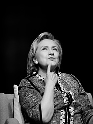 """Former Secretary of State Hillary Clinton discusses her new book """"Hard Choices:<br /> A Memoir,"""" on June 13, 2014 at the Lisner Auditorium in Washington D.C. Photo by Olivier Douliery/ABACAUSA.COM"""