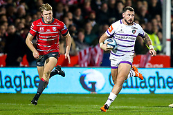 Adam Thompstone of Leicester Tigers - Mandatory by-line: Robbie Stephenson/JMP - 16/11/2018 - RUGBY - Kingsholm - Gloucester, England - Gloucester Rugby v Leicester Tigers - Gallagher Premiership Rugby