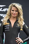 April 5-7, 2019: Lamborghini Super Trofeo: Barber Motorsport Park. Race 1, Lamborghini grid girls