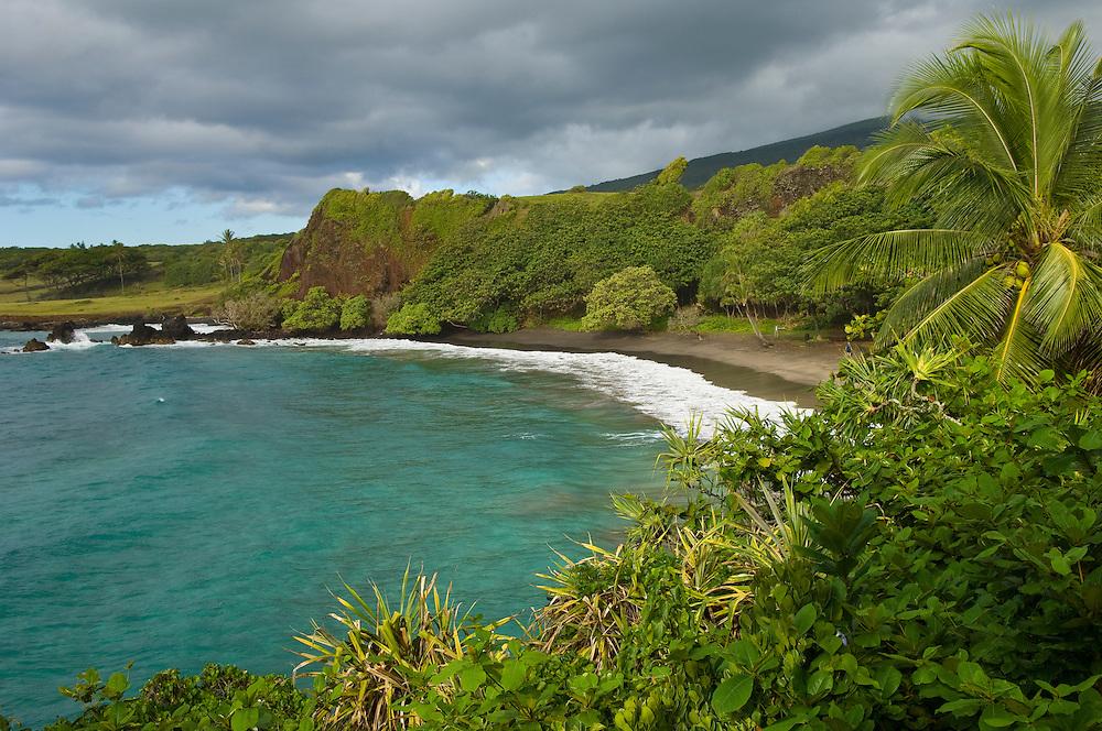 Hamoa Beach, Hana Coast, Maui, Hawaii.