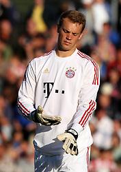 14.07.2011, Ernst-Abbe-Sportfeld, Jena, GER, Benefizspiel, Carl Zeis Jena vs FC Bayern im Bild ..Torwart Manuel Neuer (Bayern München) .. //during the freindlc match between Carl Zeis Jena - FC Bayern 2011/07/14   EXPA Pictures © 2011, PhotoCredit: EXPA/ nph/  Hessland       ****** out of GER / CRO  / BEL ******