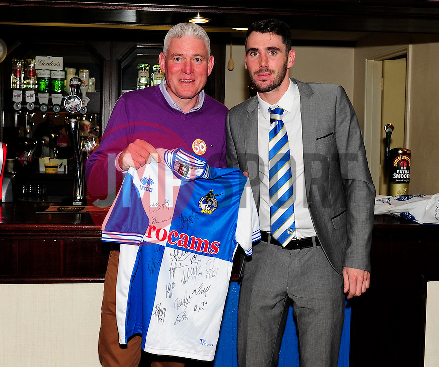 Man of the match  - Photo mandatory by-line: Dougie Allward/JMP - Mobile: 07966 386802 12/04/2014 - SPORT - FOOTBALL - Bristol - Memorial Stadium - Bristol Rovers v Torquay United - Sky Bet League Two
