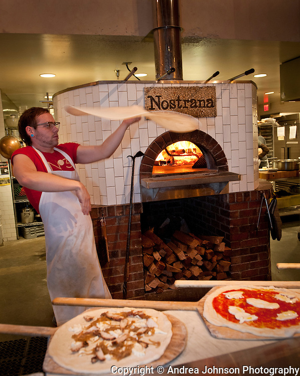 Nostrana wood fire oven pizza, SE Portland, Oregon
