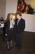 Michael Brandon and Glynnis Barber. ( Dempsey and Makepeace) through the eyes of a child. 2002. In aid of the NSPCC.  Bloomberg Space. 21 November 2002. © Copyright Photograph by Dafydd Jones 66 Stockwell Park Rd. London SW9 0DA Tel 020 7733 0108 www.dafjones.com