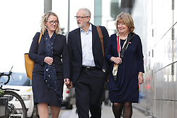 © Licensed to London News Pictures . 02/09/2019. Manchester, UK. The Labour Party hold a shadow cabinet meeting in Salford , attended by party leader Jeremy Corbyn and Rebecca Long-Bailey . Photo credit: Joel Goodman/LNP