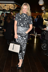 POPPY JAMIE at the mothers2mothers World AIDS Day VIP Lunch with Next Management & THE OUTNET.COM held at Mondrian London, 19 Upper Ground, London on 1st December 2014.
