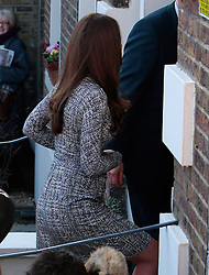 (UK RIGHTS ONLY) Catherine, Duchess of Cambridge visits one of her charities, Action on Addiction's the Hope House centre in Clapham, south London. UK. 19/02/2013<br />