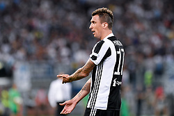 August 13, 2017 - Rome, Italy - Mario Mandzukic of Juventus during the Italian Supercup Final match between Juventus and Lazio at Stadio Olimpico, Rome, Italy on 13 August 2017. (Credit Image: © Giuseppe Maffia/NurPhoto via ZUMA Press)