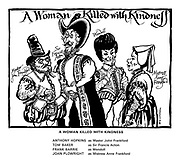 A Woman Killed with Kindness. Anthony Hopkins as Master John Frankford. Tom Baker as Sir Francis Acton. Frank Barrie as Wendoll. Joan Plowright as Mistress Anne Frankford.