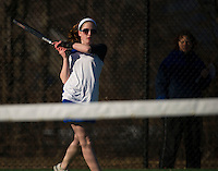 Gilford versus Interlakes varsity tennis match.    Karen Bobotas/for the Laconia Daily Sun