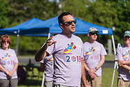 20180609, Saturday, June 9, 2018, North Easton, MA, USA &ndash; A multitude of the My Brother's Keeper extended family gathered together in North Easton on the campus of Stonehill College and walked part of the college's lush summertime grounds for their ninth annual 2.5 mile Family Walk to build community and celebrate their mission on a beautiful Saturday afternoon. <br /> At the finish of the fundraising walk music, food and amusements welcomed the entire ever-expanding My Brother's Keeper family.<br /> <br /> ( 2018 &copy; lightchaser photography )