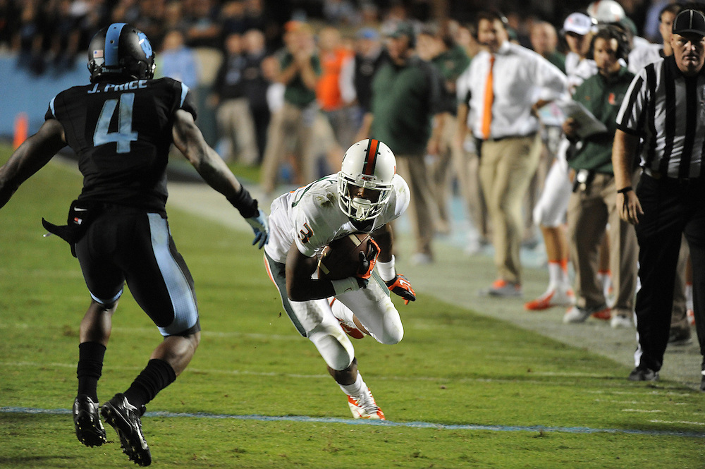 2013 Miami Hurricanes Football @ North Carolina